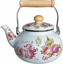 Teekannen Türkische Topf Emaille Emaille Topf