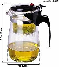 Teekaraffen Glas Teekanne Hitzebeständige Glas
