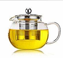 Teekaraffen Teekanne Glas Klar Für Blühende