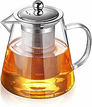 Teekaraffen Teekanne Hitzebeständige Glas