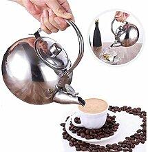 Teekessel Edelstahl Kaffeekessel 1PC Teekessel