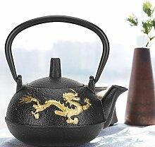 Teekessel, Eisen Teekanne 0.3L mit Sieb Gold