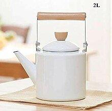Teekessel Emaille Wasserkocher Pfeifen Topf