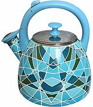 Teekessel für Teekessel, 2,8 l, mehrfarbig, 304
