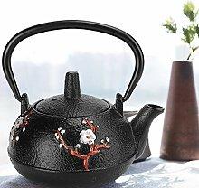Teekessel, Gusseisen-Teekanne imitiert japanische