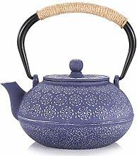 Teekessel Gusseisen Teekanne Kettle Blaue