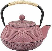 Teekessel, japanische Gusseisen-Teekanne mit