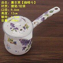 Teekessel Milch Teekanne, Emaille, kleine