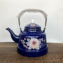 Teekessel Milch Teekanne Emaille Wasserkocher