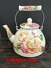 Teekessel mit großem Fassungsvermögen, verdickt,