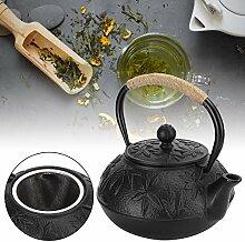 Teekessel, Teekanne aus Gusseisen imitiert