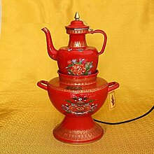Teekessel Tibetanische Butter Elektrotopf Set