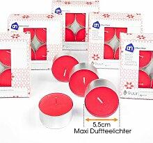 Teelichter Duft Kerzen Maxi Wachskerzen 24 Stück