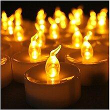 Teelichter, LED Kerzen flackernde flammenlose