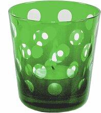 Teelichthalter Bob aus Glas