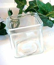 Teelichthalter Glaswindlicht für ein Teelicht