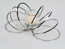 Teelichthalter, Kerzenhalter WILI WELLE L. 42cm