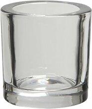 Teelichthalter Kim aus Glas
