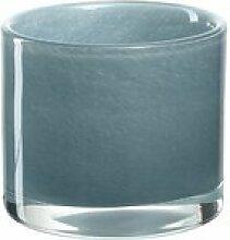Teelichthalter Milano Puder aus Glas