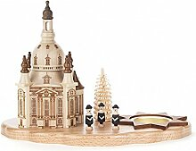 Teelichthalter mit Dresdner Frauenkirche und