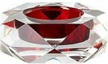 Teelichthalter Stella aus Glas