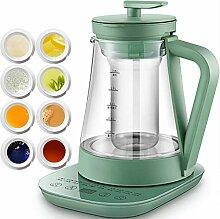 Teemaschine Glas Elektrisch, Tragbarer Kräutertee