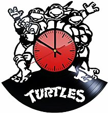 Teenage Mutant Ninja Turtles Cartoon Serie Wanduhr