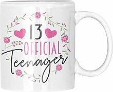 Teenager Tasse - 13. Geburtstag Mädchen Geschenk