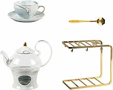 Teeservice, 14 Stück Englische Keramik Teesets,