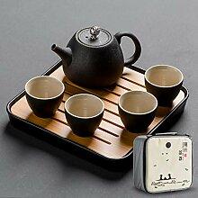 Teeset Chinesische Reise Tragbar Traditionelle