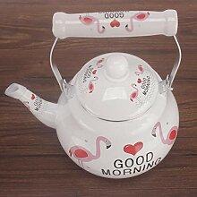 Teeset für den Herd, Milch-Teekanne,