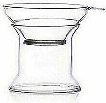 Teesiebe für losen Tee Mit Griff Glas Seiher