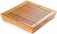 Teetablett Chapan - Teetisch aus Bambus für