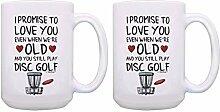 Teetasse / Kaffeetasse / Discgolfbecher-Set I