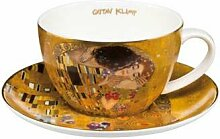 Teetasse mit Untertasse DER KUSS 0,25l Porzellan
