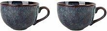 Teetasse Retro Pottery China Teetasse Keramik Mate