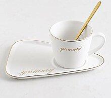 Teetassen Cappuccinotassen Keramik Kaffeetasse &