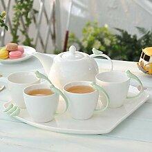 Teetassen Cappuccinotassen Teeservice Kaffeetasse