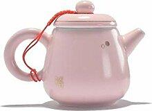Teetassen Kreative Rosa Porzellan Teekanne