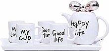 Teetassen Mode Britische Keramik Kaffeetasse Set
