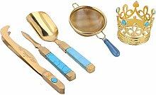 Teezeremonie-Werkzeuge, japanisches Tee-Set