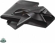 Teichfolie 4x 5mq in PVC schwarz Dicke 0,5mm