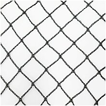 Teichnetz 12m x 6m schwarz Fischteichnetz Laubnetz