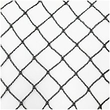 Teichnetz 18m x 4m schwarz Fischteichnetz Laubnetz