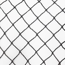 Teichnetz 20m x 10m schwarz Fischteichnetz