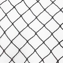 Teichnetz 4m x 8m schwarz Fischteichnetz Laubnetz