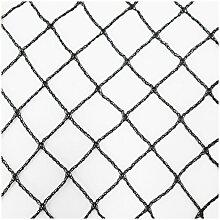 Teichnetz 6m x 4m schwarz Fischteichnetz Laubnetz