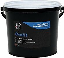 Teichschlammentferner Oxalit, wirkt sofort, 25 kg, Teichreinigung, Teichpflege, Schlammentferner Teich, Gartenteich reinigen, Teichschlammabbau