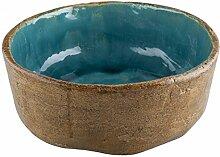 Tekla - Vintage Antike Design Waschbecken aus Ton