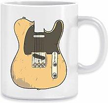 Telecaster Kaffeebecher Becher Tassen Ceramic Mug